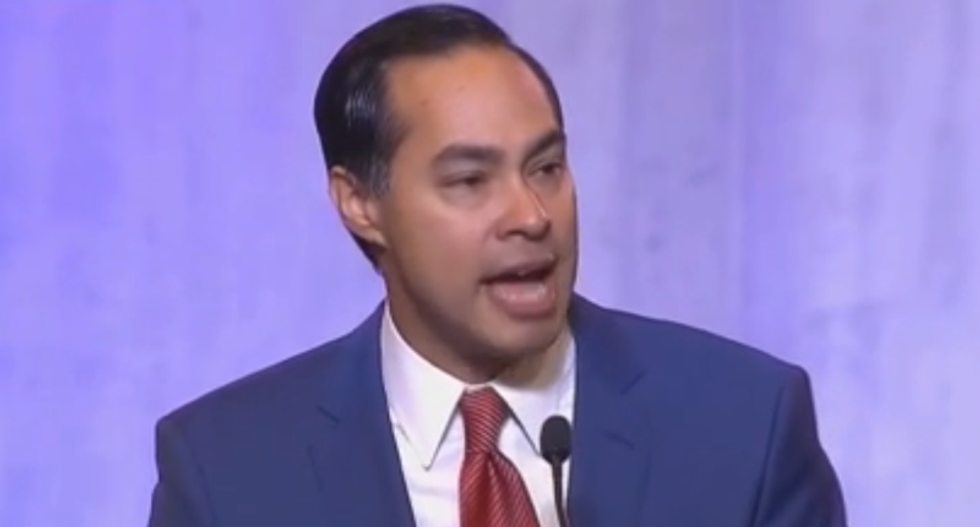 Julián Castro destroys NRA's 'good guy with a gun' claim: Armed Texans 'didn't keep those people safe' in El Paso
