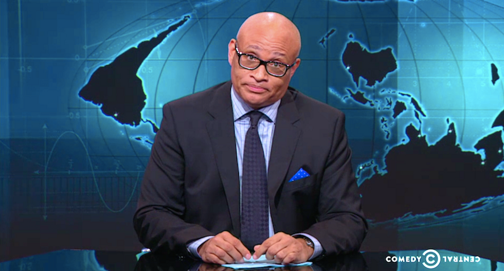 Larry Wilmore notices men keep shooting their d*cks off -- will that finally lead to gun control?