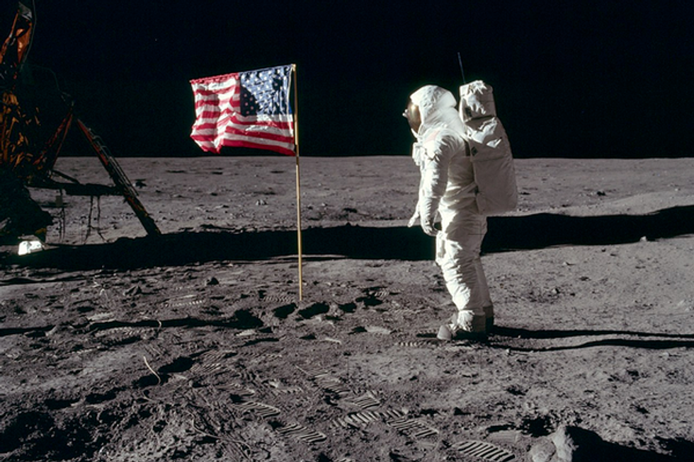 The Moon landings have a Nazi problem