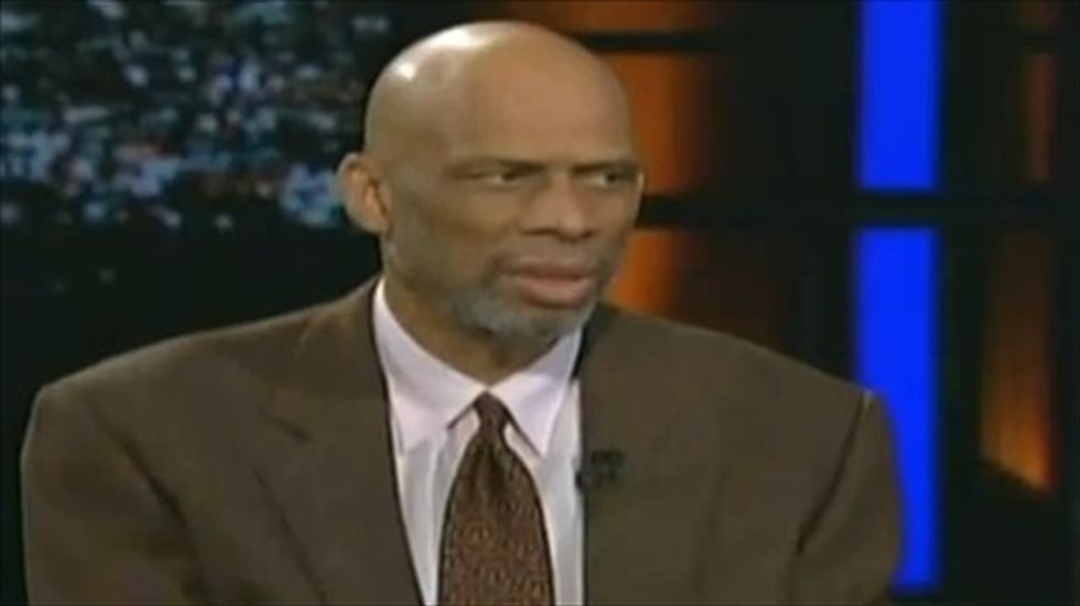 Kareem Abdul-Jabbar rebuts Maher: Donald Sterling's age is no excuse for his racism