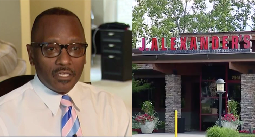 Restaurant refuses to act as food and slurs are hurled at black couple