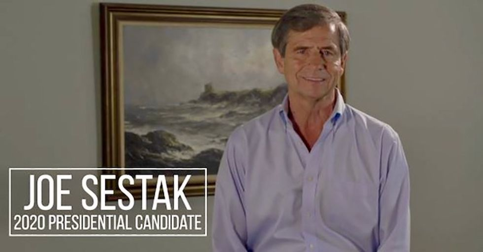 Joe Sestak is the 24th Democratic candidate to enter the 2020 race
