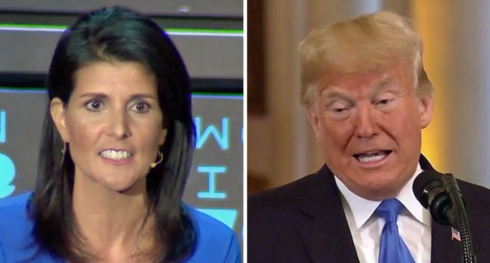 George Conway warns Nikki Haley about replacing Pence on GOP's 2020 ticket without vetting the rape allegations against Trump