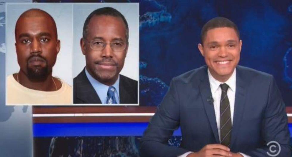 Trevor Noah mocks Ben Carson-Kanye West lovefest: You have 'rampant homophobia' in common