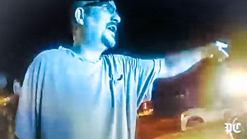 Body cam video catches South Carolina coroner's racist rant after he pulls gun on black man