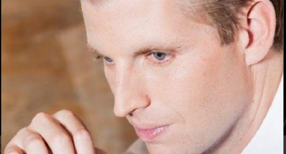 Eric Trump says bragging about sexual assault is what happens when you're an 'alpha personality'