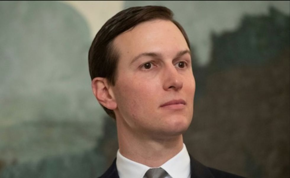 Jared Kushner says economic plan pre-condition to peace
