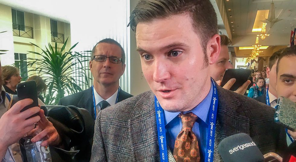 The alt-right group Richard Spencer asked to protect him discussed bombing a federal building: report