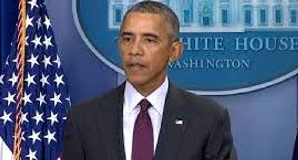 WATCH: Obama calls for stricter gun control: 'Our thoughts and prayers are not enough'