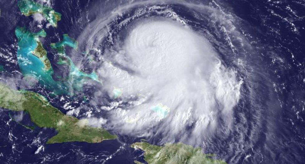 Hurricane Joaquin strengthens amid questions whether it will make landfall in US