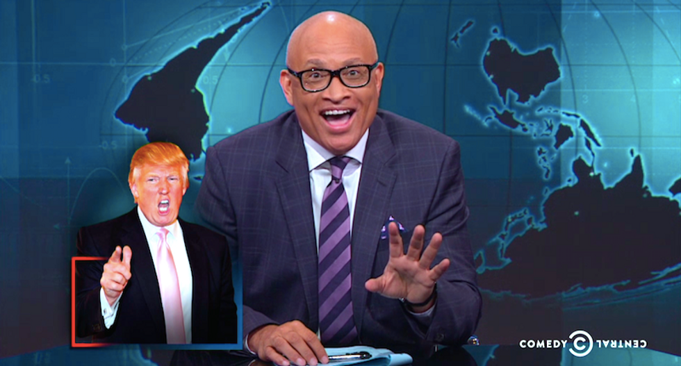Larry Wilmore digs into Trump's tax plan -- and it's pretty silly: 'He's lying to Americans'