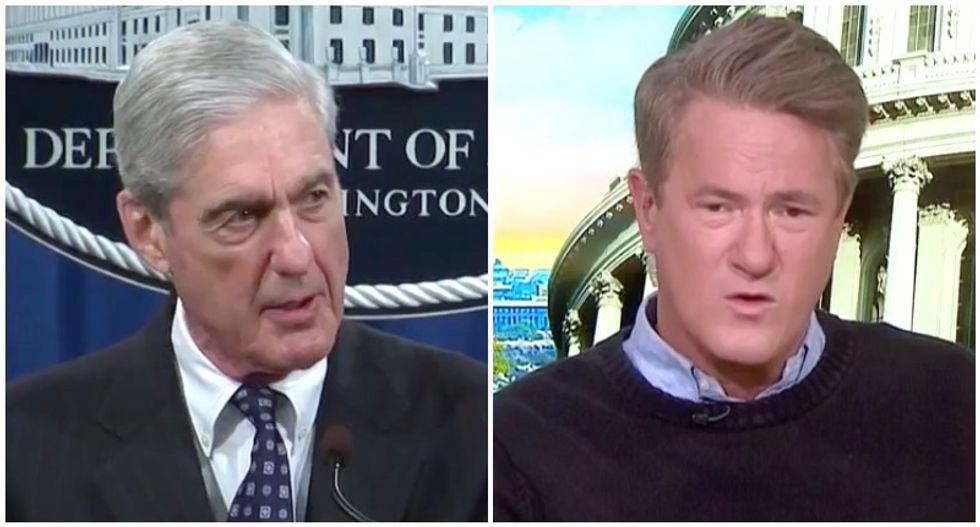 MSNBC's Morning Joe challenges 'stubborn' Robert Mueller to explain Trump's corruption to 'laymen' -- not lawyers