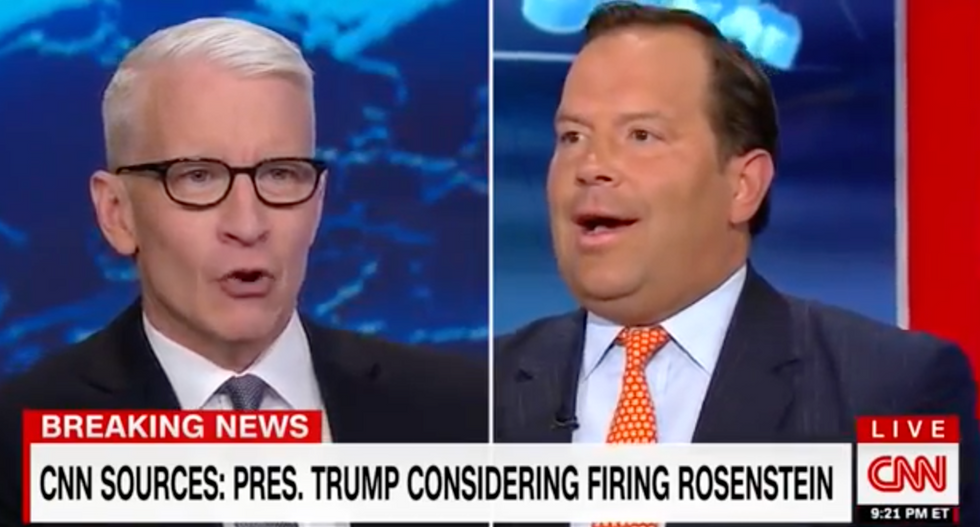CNN's Anderson Cooper rips Trump-backer for claiming FBI raid is a product of 'the swamp': 'You don't know that!'