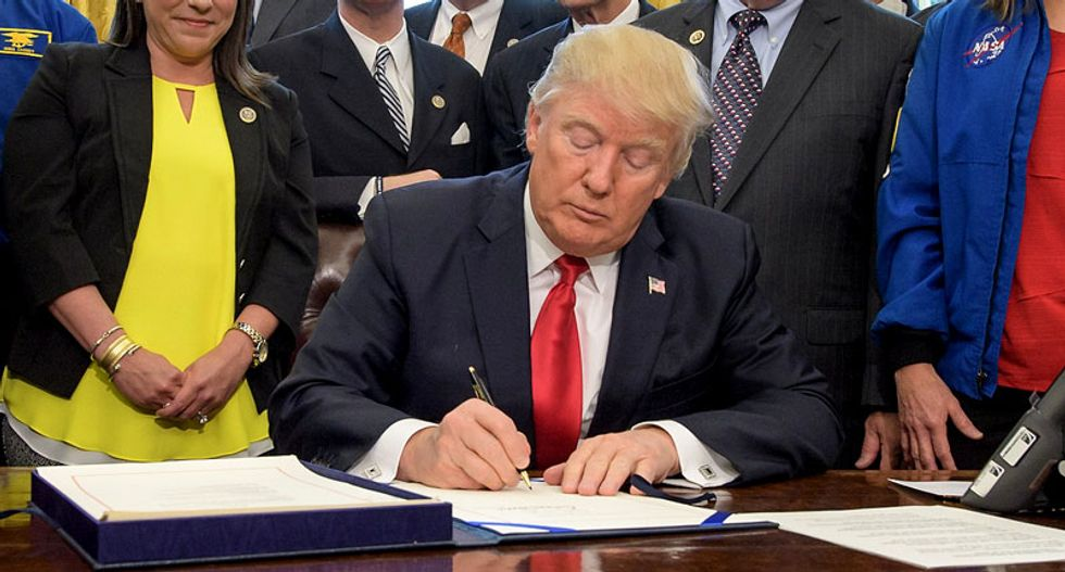 Most of Trump's executive orders don't actually do anything — and many highlight his powerlessness: report