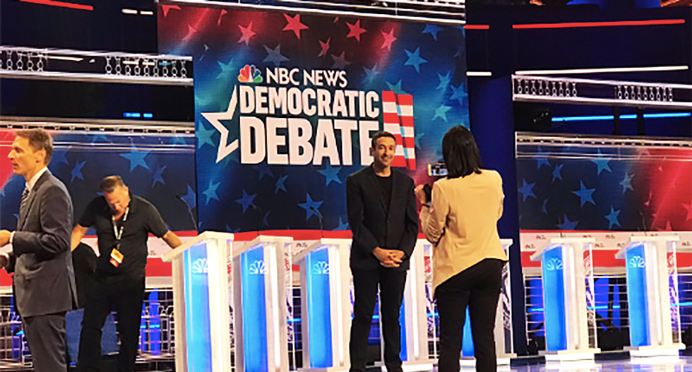WATCH LIVE: First #DemDebate with 10 presidential primary hopefuls