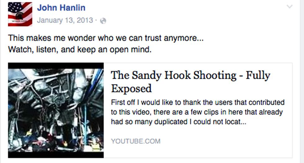 Sheriff investigating Oregon massacre posted Sandy Hook truther video on Facebook