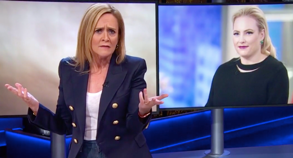 Samantha Bee shreds 'noted TV dum-dum' Meghan McCain for doubting Trump's latest rape accuser
