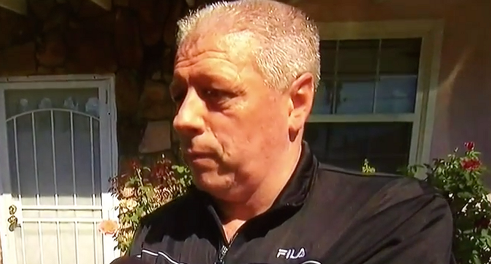 Father of Oregon shooter rips US gun laws: 'How was he able to compile that kind of arsenal?'