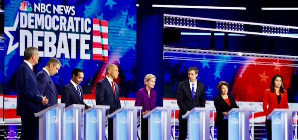 'Downright irresponsible and shameful': DNC and NBC ripped for Democratic debate that spent less than 10 minutes on climate emergency