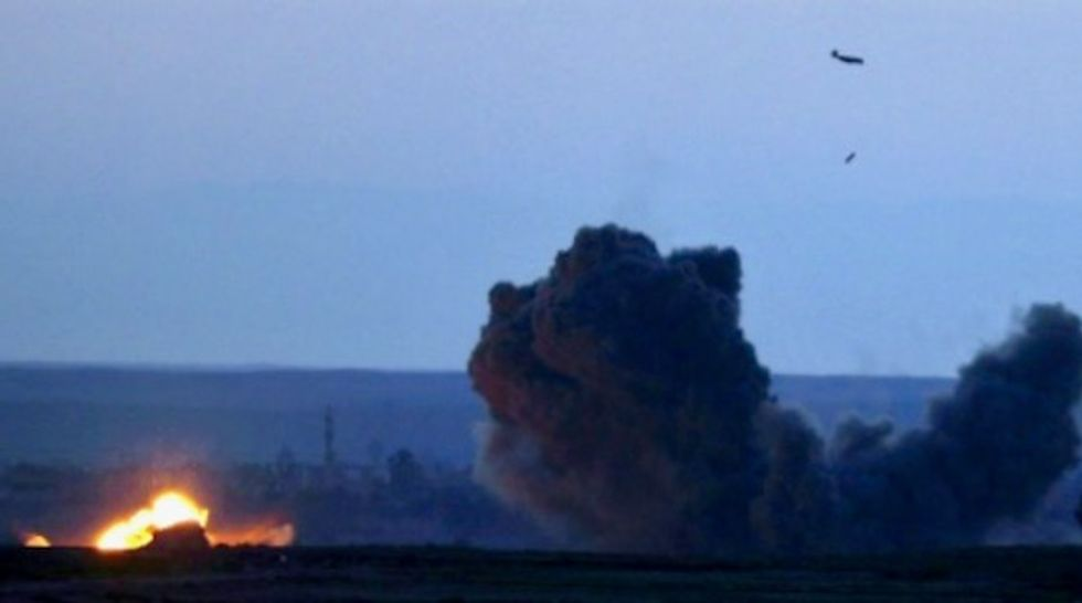 US-led coalition says it killed 1,319 civilians in anti-IS war