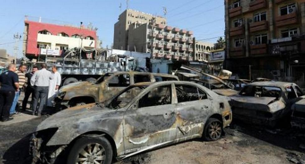 Suicide bombers kill 24 and injure 61 in Iraq -- Islamic State claims responsibility