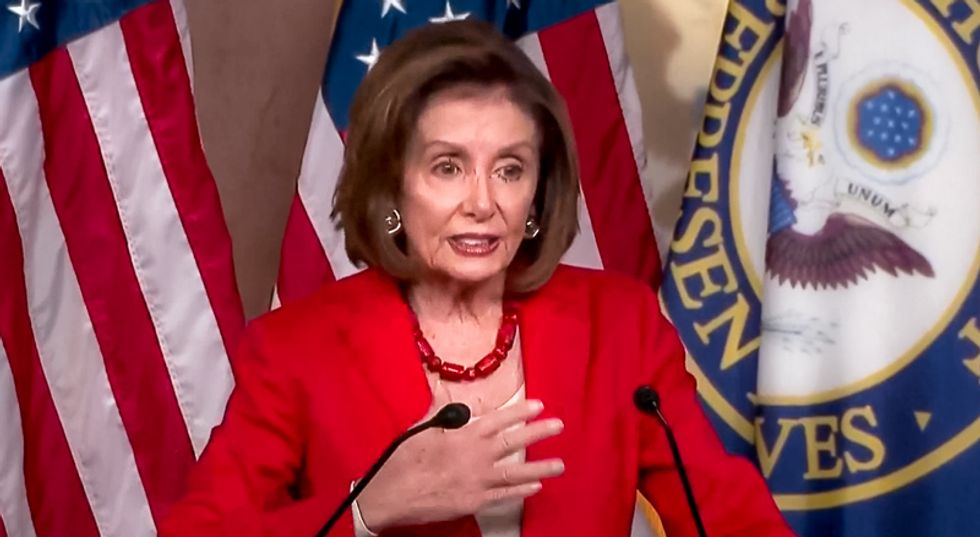'Making America white again': Nancy Pelosi nails Donald Trump after he tells non-white Dems to 'go back' home