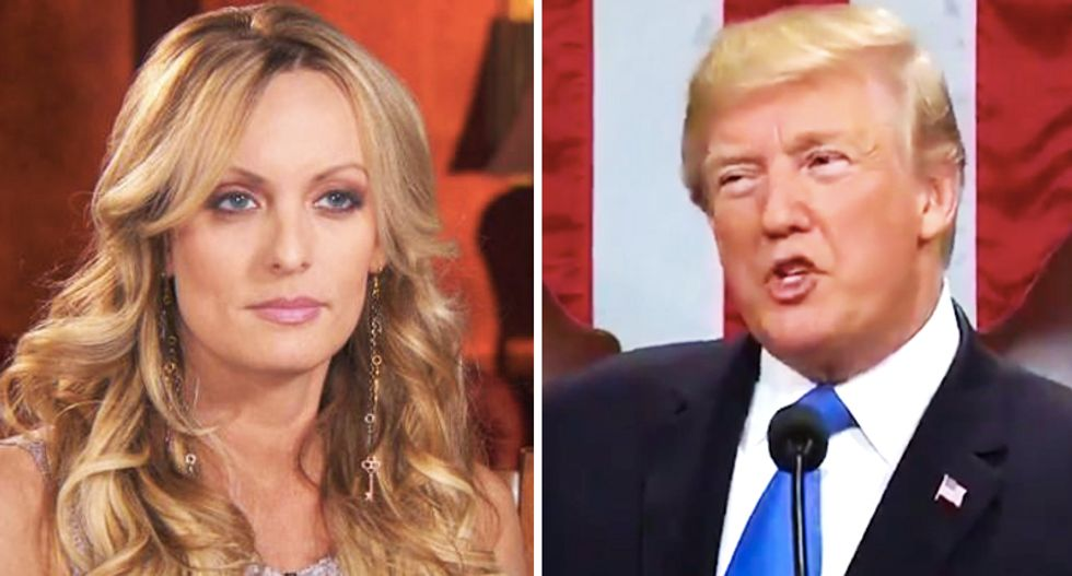 CNN panel mocks Trump team's 'grotesque and disgraceful' Stormy Daniels story: These are 'The Days of our Lives'