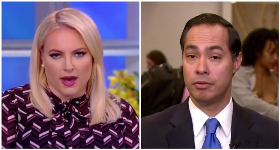 Meghan McCain schooled by half-asleep Julian Castro in immigration clash on The View