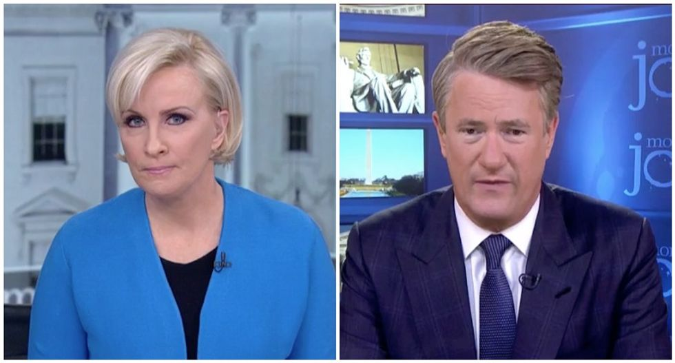 'The president is a fool': MSNBC's Joe and Mika bash Trump for 'humiliating America' with his angry tweets