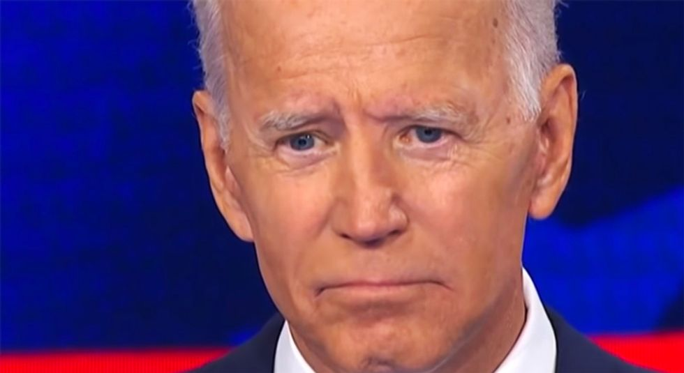 'No fossil fuel money!': Protests as Biden attends big-money fundraiser co-hosted by natural gas executive