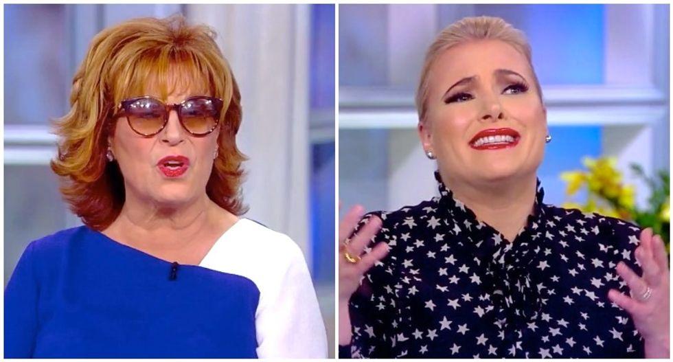 Meghan McCain and Joy Behar clash over Marianne Williamson: 'She's no crazier than Trump!'