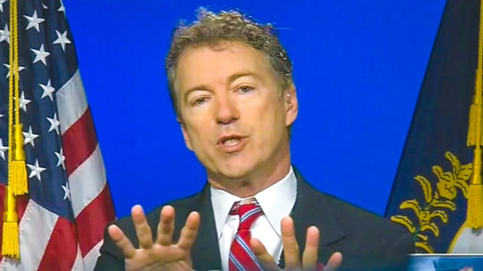 Rand Paul calls for 'tent revivals' to resolve the 'moral crisis' of gay marriage