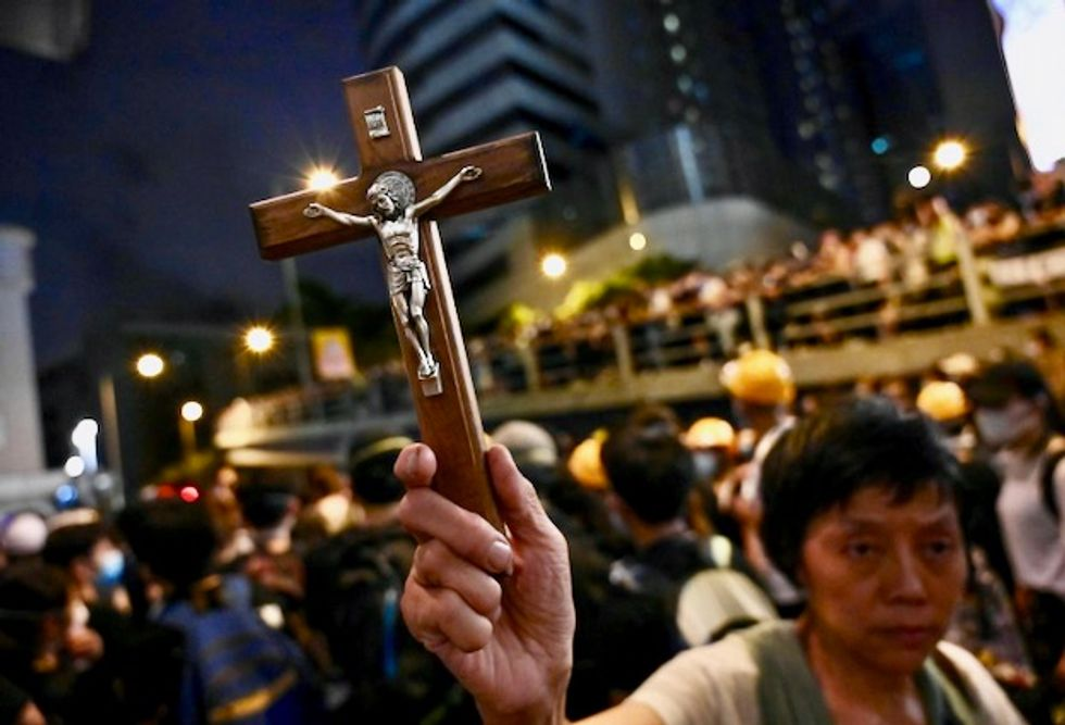 Keep the faith: Religion on front lines of Hong Kong protests