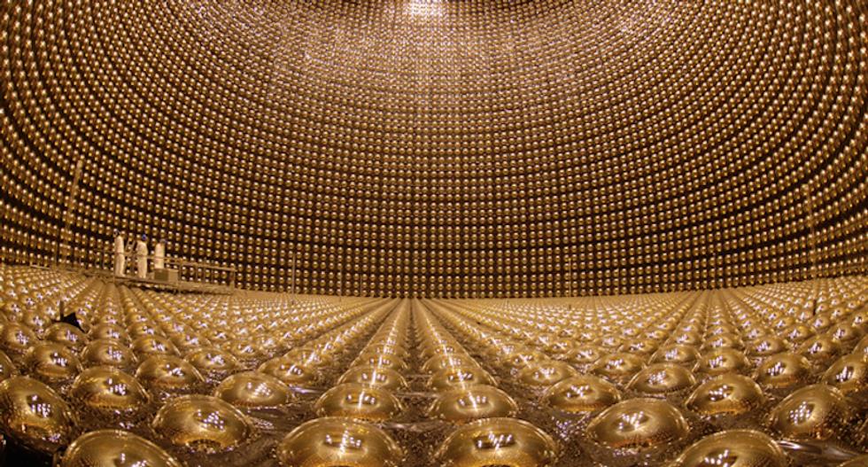 Neutrino scientists win Nobel Prize for Physics