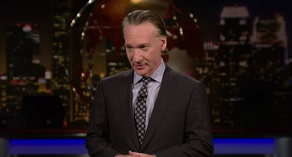 Maher scorches Republicans who condemn 'President-what-the-f*ck's' tweets but still vote with him