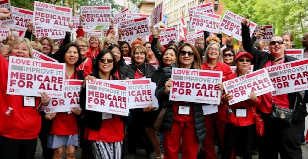 'Despicable' insurance industry front group ramps up propaganda against Medicare for All amid coronavirus pandemic