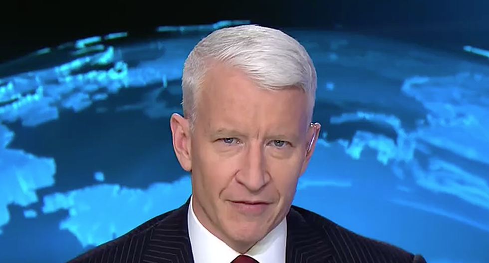 Anderson Cooper calls out Melania Trump for not doing anything about cyber-bullying