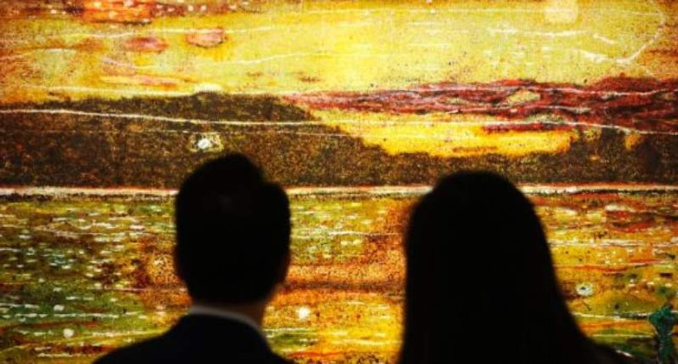 Why one artist is going to court to prove a $10 million painting is not his work