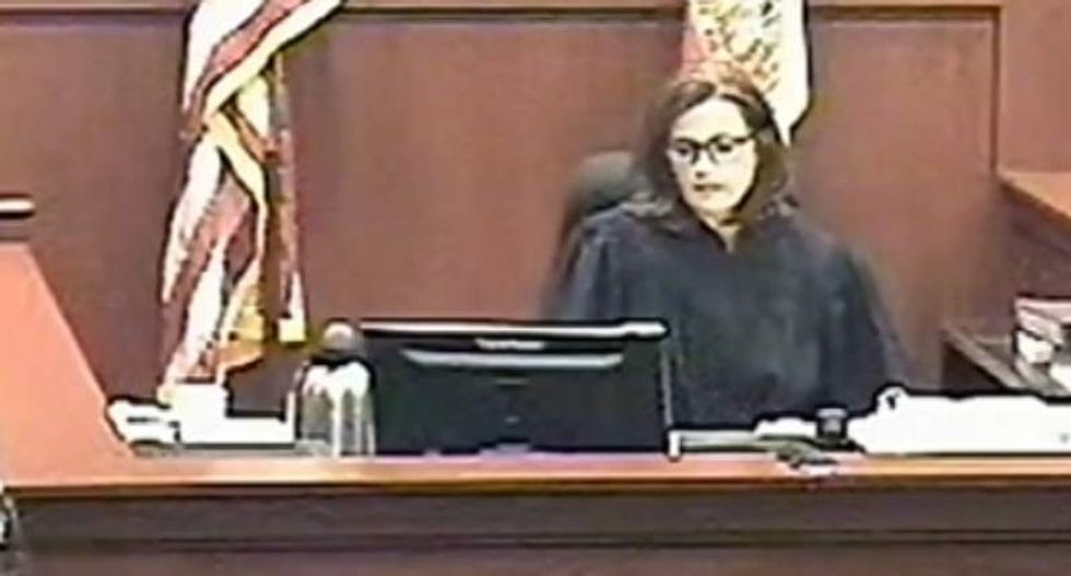 Florida judge harasses domestic violence victim before jailing her: 'You haven't even seen anxiety'
