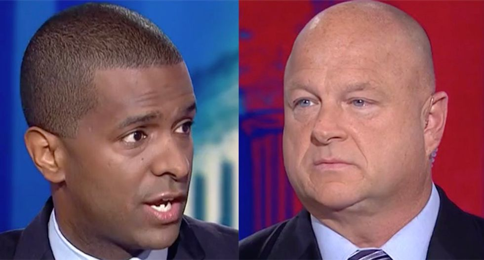 Bakari Sellers shuts down Trump defender over 'crazy right-wing talking points' as CNN panel dissolves into chaos
