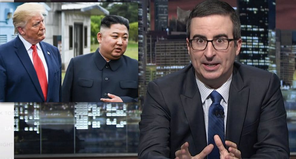 John Oliver encourages Trump to treat women with the same respect he shows 'murderous autocrats'
