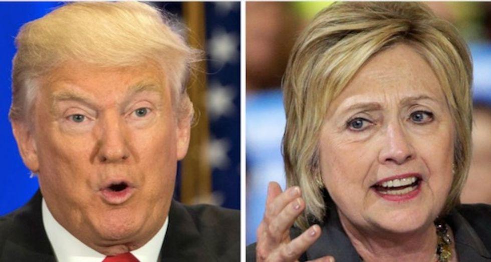 Russian Twitter propaganda predicted 2016 US election polls