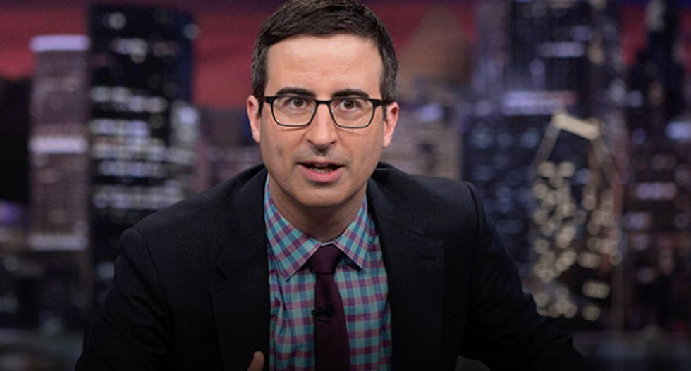 John Oliver mockingly asks why Toyota is making 'instruments of death' for terrorists