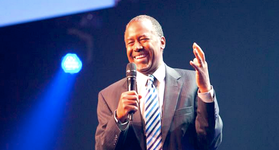 Ben Carson: Pledge of Allegiance and other 'founding documents' prove America is a Christian nation
