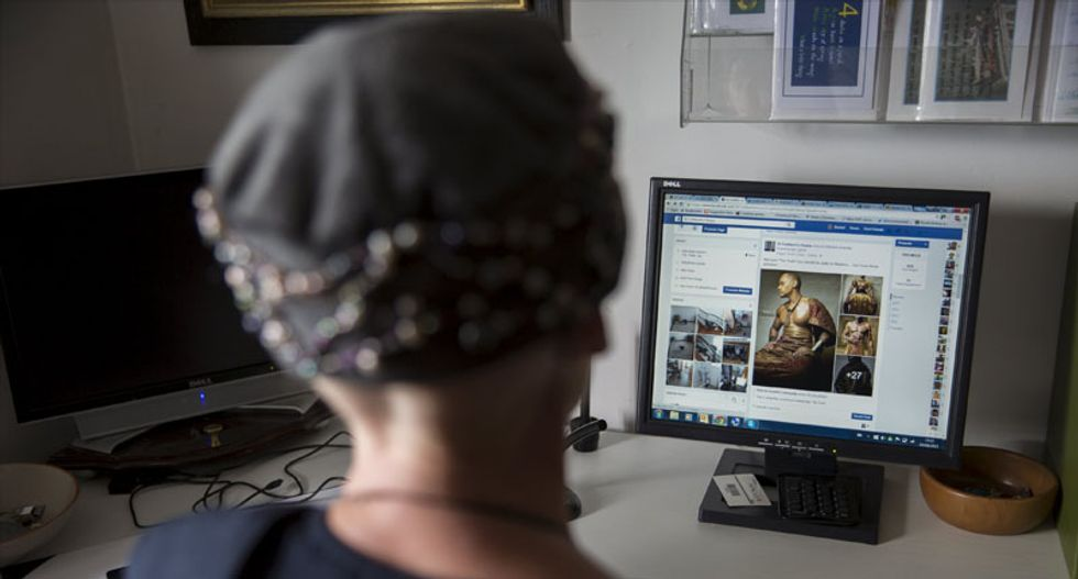 Out of the cave and onto Facebook - the life of a modern religious hermit