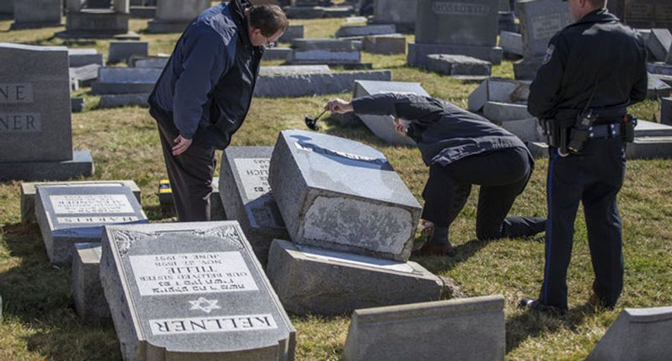 Anti-Semitic acts spiked since Trump election win, watchdog says