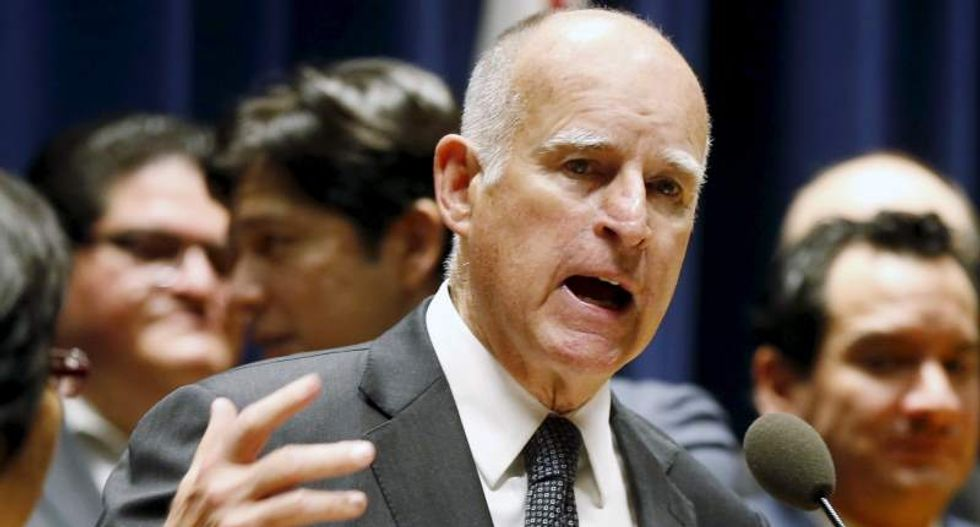 'He doesn't speak for the rest of America': Jerry Brown shows up in Hamburg amid G20 -- and shreds Trump