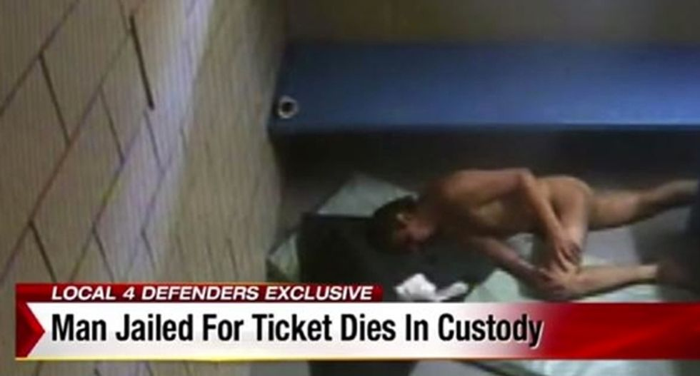 Protesters want answers over drug addict left to die in Michigan jail while serving traffic ticket sentence