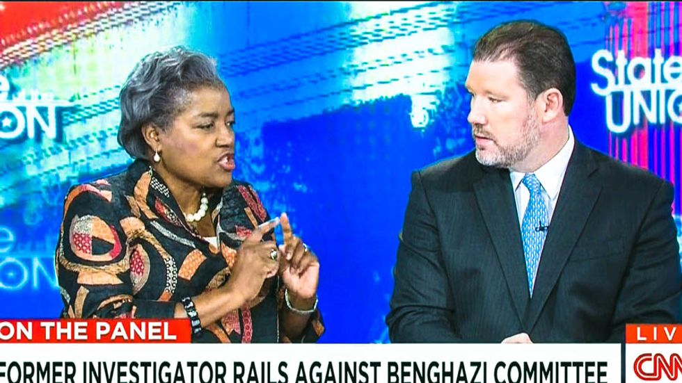 Watch Donna Brazile single-handedly shut down CNN's Benghazi panel: 'This has been a partisan witch hunt'