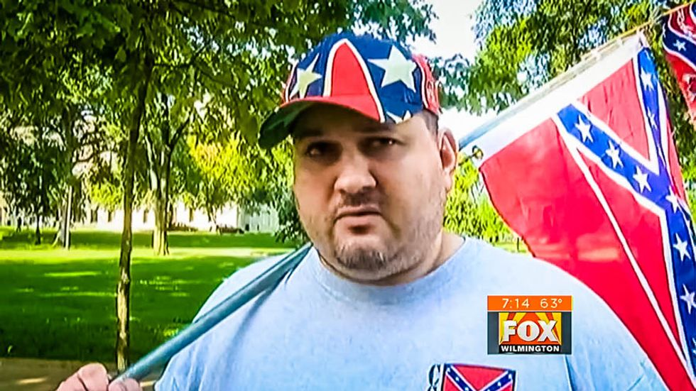 WATCH: Confederate activist explains why it's 'anti-Semitic' to remove racist symbol from Mississippi flag
